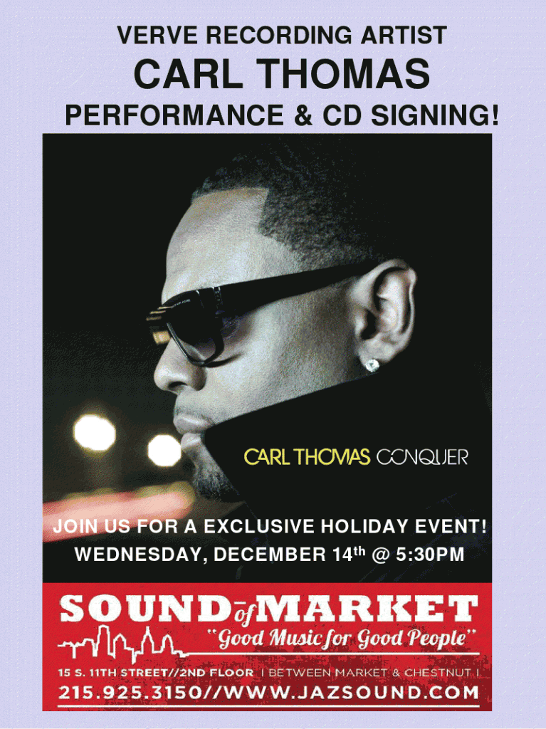 A Special Meet and Greet with Carl Thomas